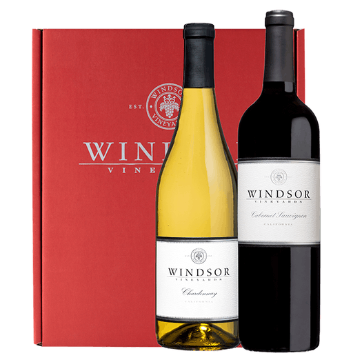 Windsor Classic Executive 2-Bottle Gift Set Red