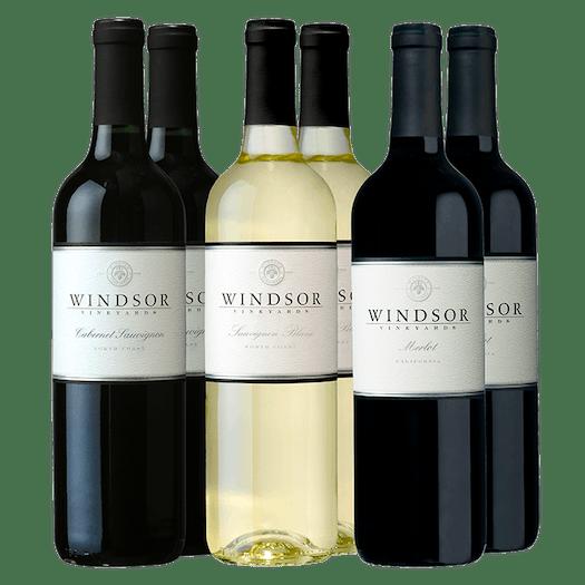 Windsor Cellar Staples 6-Bottle Collection