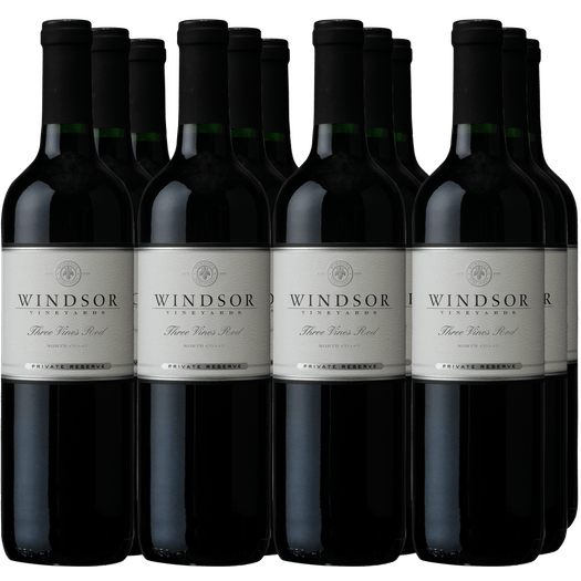 Windsor Vineyards Three Vines Red Case Special