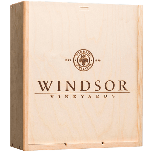 Windsor Vineyards 3 Bottle XL Wood Box