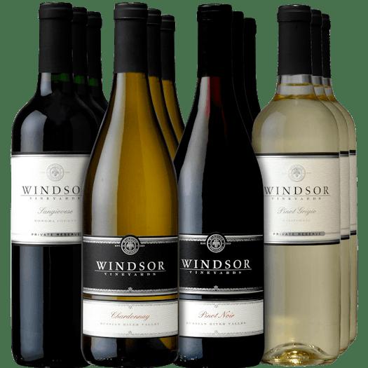 Windsor Elegant Entertaining 12-Bottle Collection