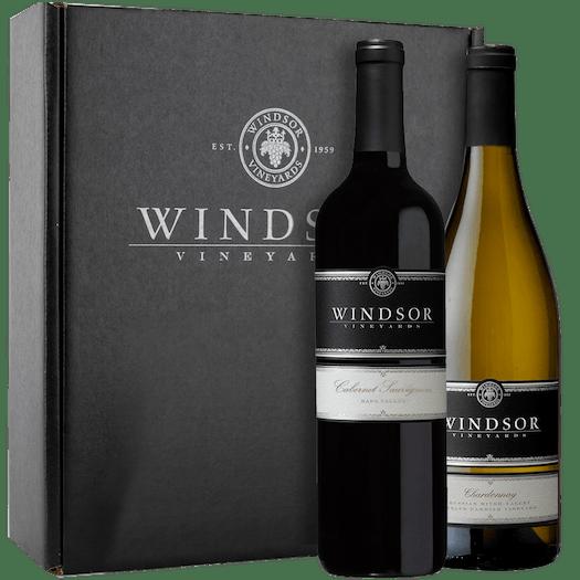 Windsor Platinum Executive 2-Bottle Gift Set - Black Box