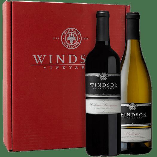 Windsor Platinum Executive 2-Bottle Gift Set - Red Box
