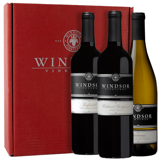 Windsor Platinum Trio 3-Bottle Gift Set - Red Box