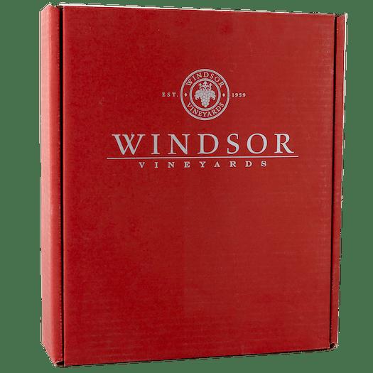 Windsor Vineyards Red Gift Box