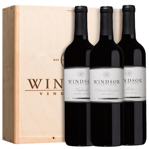Windsor Reserve Reds 3-Bottle Gift Set