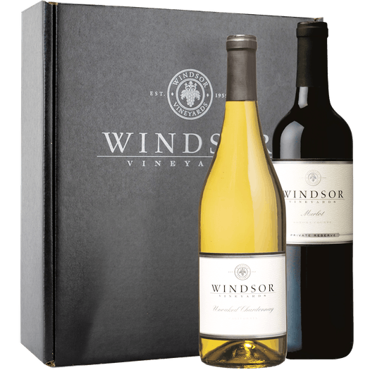 Windsor Winemaker's Choice Mixed 2-Bottle Gift Set - Black Box
