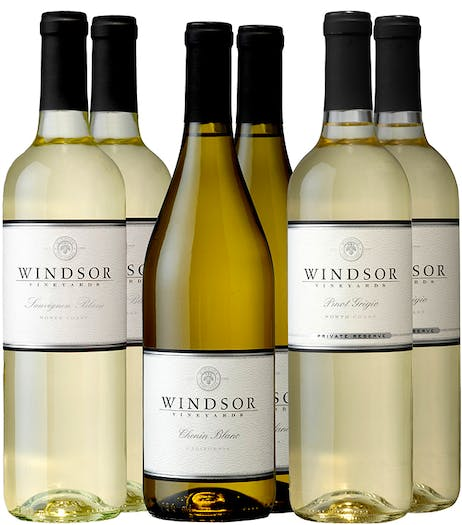 Windsor Gold Medal 6-Bottle White Collection