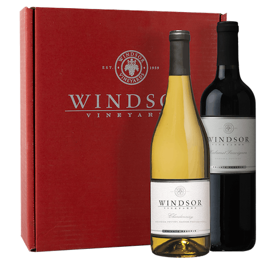 Windsor VIP Duet 2-Bottle Gift Set - Red Box