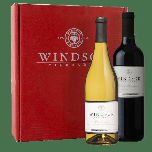 Windsor VIP Duet 2-Bottle Gift Set - Red Box