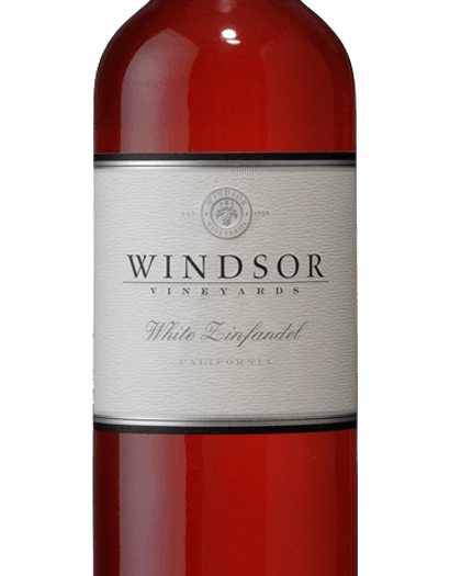 2017 Windsor White Zinfandel, California, 750ml