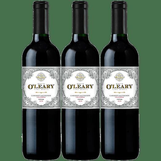 O'Leary 2016 California Cabernet Sauvignon 3-pack