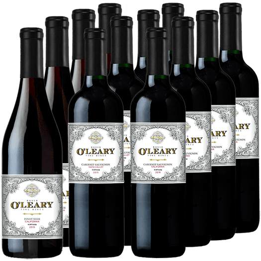 O'Leary 12-bottle All Red Wine Set