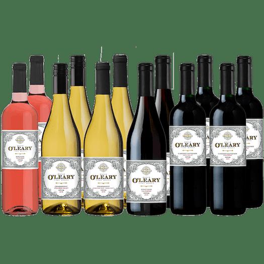 O'Leary 12-bottle Variety Wine Set