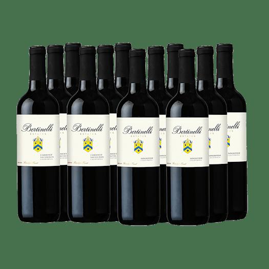Bertinelli Estates Wine Set 12-Bottle All Red