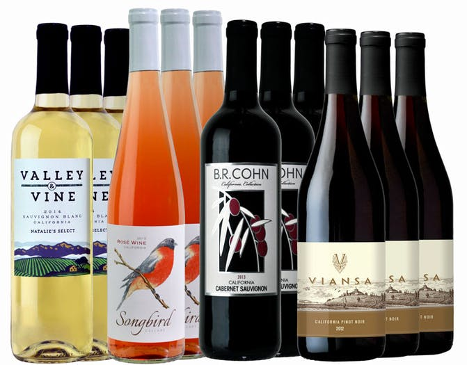 M57401-850 Winemaker Selections 12-btl Variety