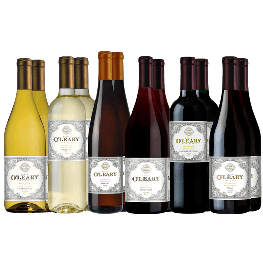 O'Leary Wonderful Wines 12-Bottle Set Variety