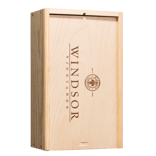 Windsor Vineyards 2 Bottle XL Wood Box