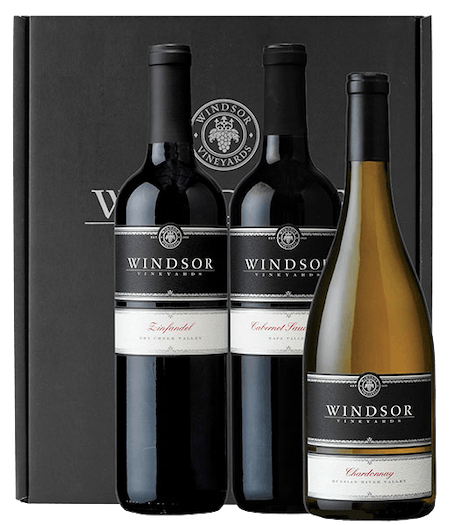 Windsor Platinum Trio 3-Bottle Gift Set - Black Box