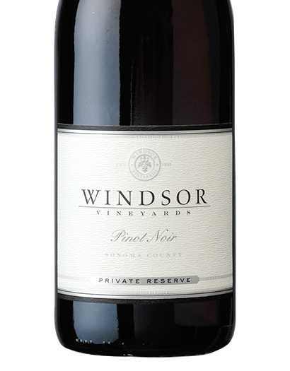 2016 Windsor Pinot Noir, Sonoma County, Private Reserve, 750ml