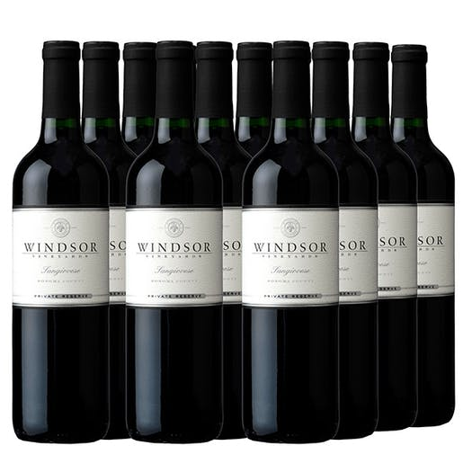 2015 Windsor Sangiovese, Sonoma County - Case Special