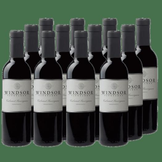 2016 Windsor Cabernet Sauvignon, California, 375ml - Set of 12