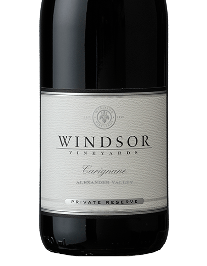 2016 Windsor Carignane, Alexander Valley, Private Reserve, 750ml