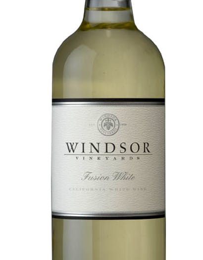 2016 Windsor Fusion White Wine, California, 750ml