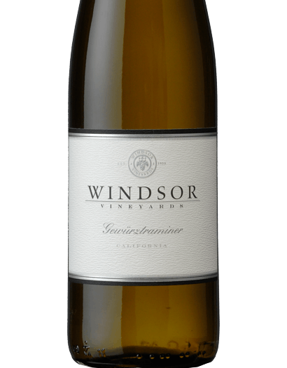 2016 Windsor Gewurztraminer, California, 750ml