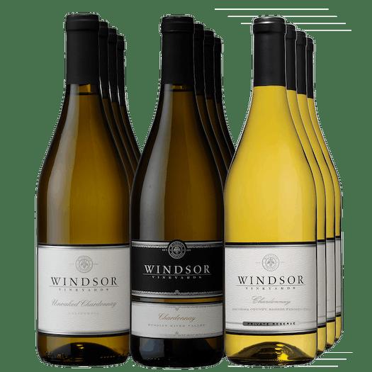 Windsor Golden Chardonnays 12-Bottle Collection