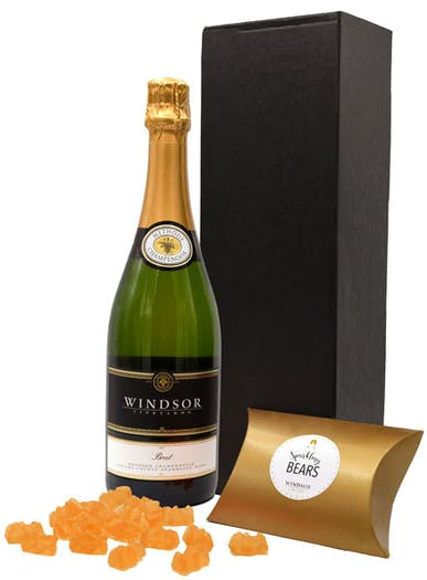 Windsor Toast and Treat  1- Bottle Gift Set - California Brut