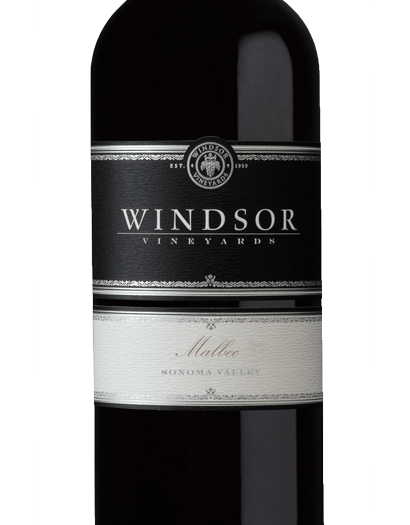 2016 Windsor Vineyards Malbec, Sonoma Valley, Platinum Series, 750ml