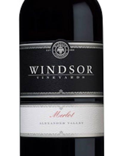 2015 Windsor Redfin 4 Merlot, Alexander Valley, Platinum Series, 750ml
