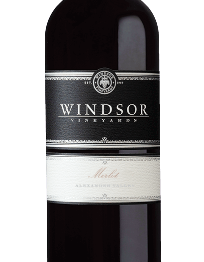 2015 Windsor Vineyards Merlot, Alexander Valley, Platinum Series, 750ml