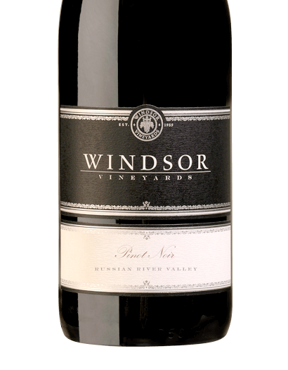 2015 Windsor Vineyards Pinot Noir, Russian River Valley, Platinum Series, 750ml