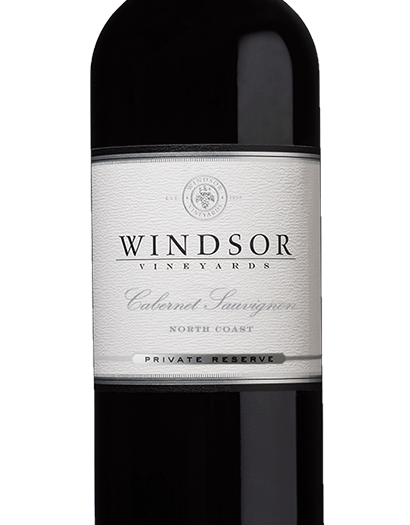 2016 Windsor Cabernet Sauvignon, North Coast, Private Reserve, 750ml