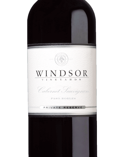 2016 Windsor Cabernet Sauvignon, Paso Robles, Private Reserve, 750ml