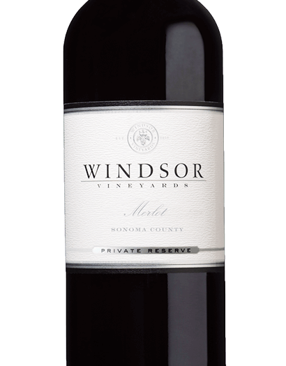 2016 Windsor Merlot, Sonoma County, Private Reserve, 750ml