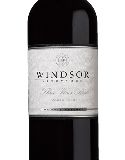 2015 Windsor Three Vines Red, North Coast, Private Reserve, 750ml
