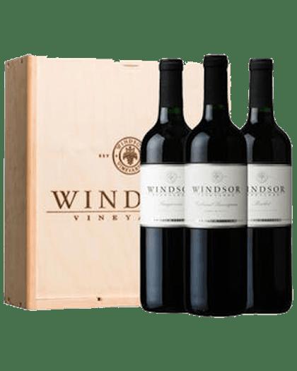 Windsor Reserve Reds 3-Bottle Gift Set