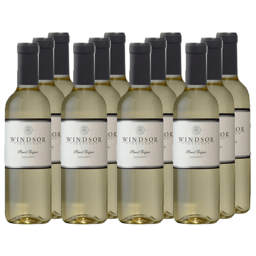 2016 Windsor Pinot Grigio, California, 375ml - Set of 12