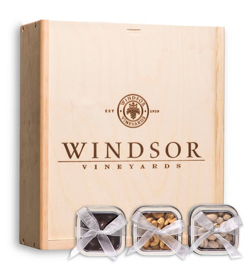 Windsor Vineyards Trio of Treats Gift Box